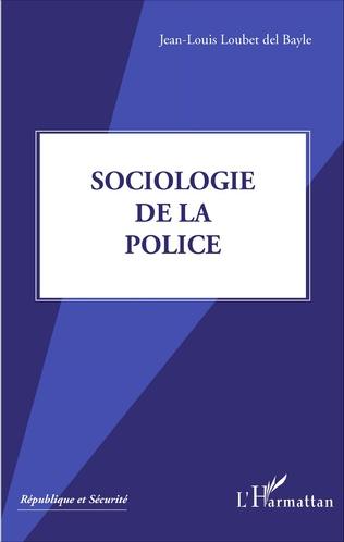 Couverture Sociologie de la police