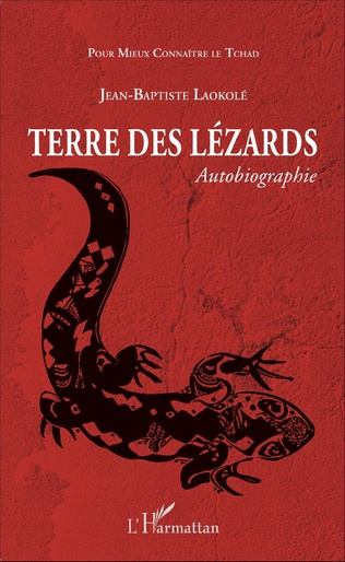 Couverture Terre des lézards. Autobiographie
