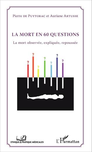 Couverture La mort en 60 questions