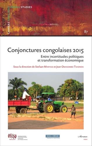 Couverture Conjonctures congolaises 2015
