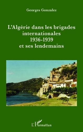 Couverture L'Algérie dans les brigades internationales