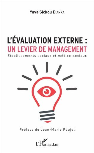 Couverture L'évaluation externe : un levier de management