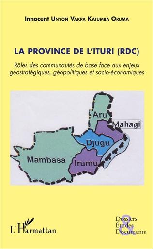 Couverture La province de l'Ituri (RDC)