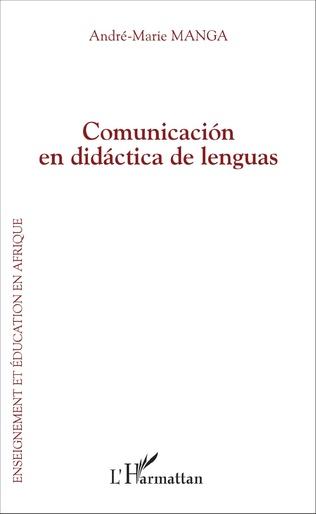 Couverture Comunicación en didáctica de lenguas