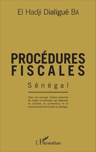 Couverture Procédures fiscales