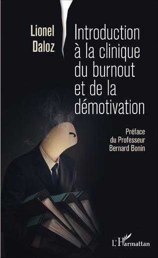 Couverture Introduction à la clinique du burnout et de la démotivation