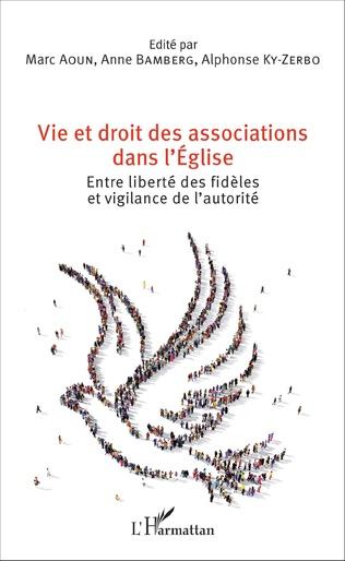 Couverture Vie et droit des associations dans l'Eglise