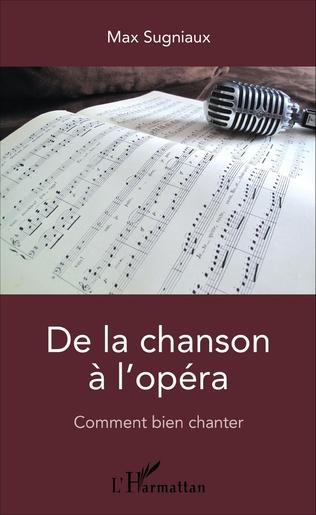 Couverture De la chanson à l'opéra