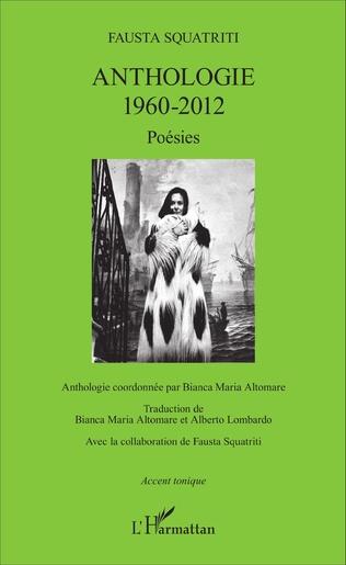 Couverture Anthologie 1960-2012