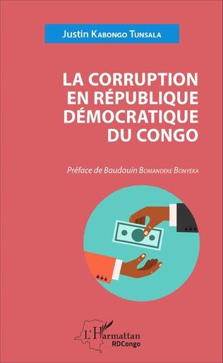 Couverture La corruption en République démocratique du Congo