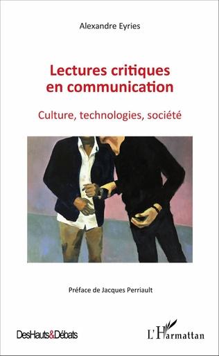 Couverture Lectures critiques en communication