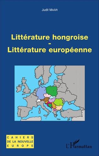 Couverture Littérature hongroise - littérature européenne