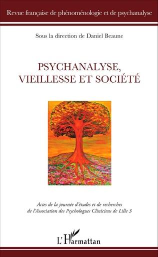Couverture Psychanalyse, vieillesse et société