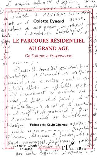 Couverture Le parcours résidentiel au grand âge