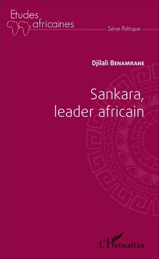 Couverture Sankara, leader africain