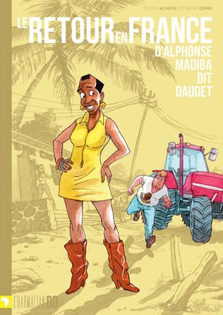 Couverture Le retour en France d'Alphonse Madiba dit Daudet