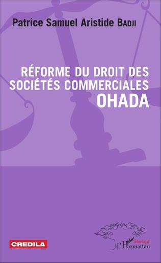 Couverture Réforme du droit des sociétés commerciales OHADA