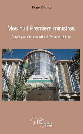 Couverture Mes huit Premiers ministres