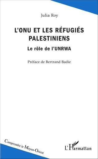 Couverture L'ONU et les réfugiés palestiniens