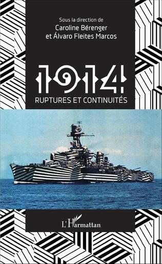 Couverture 1914 ruptures et continuités