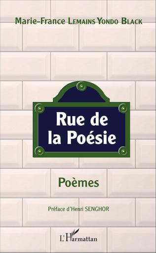 Couverture Rue de la poésie. Poèmes