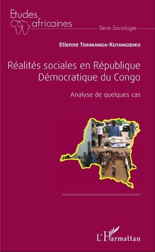 Couverture Réalités sociales en République Démocratique du Congo