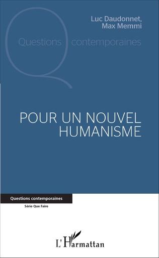 Couverture Pour un nouvel humanisme