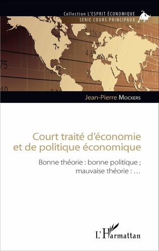 Couverture Court traité d'économie et de politique économique