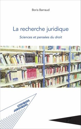 Couverture La recherche juridique