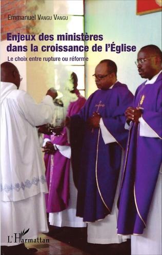 Couverture Enjeux des ministères dans la croissance de l'Eglise