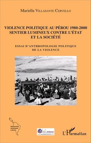 Couverture Violence politique au Pérou 1980-2000