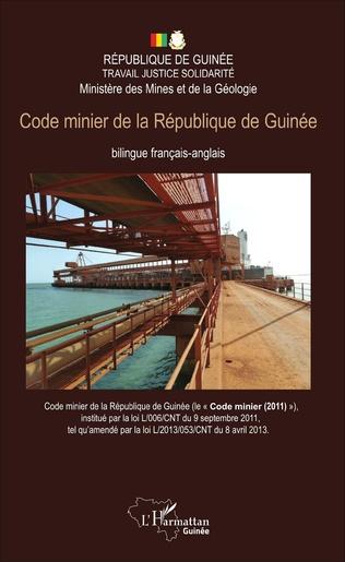 Couverture Code minier de la République de Guinée