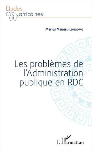 Couverture Les problèmes de l'Administration publique en RDC