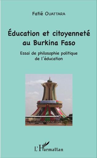 Couverture Education et citoyenneté au Burkina Faso