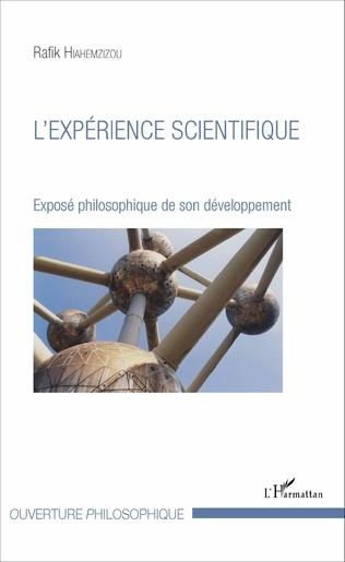 Couverture L'expérience scientifique