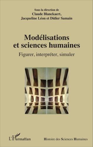 Couverture Modélisations et sciences humaines