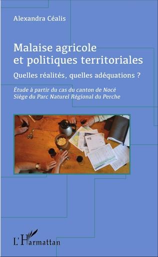 Couverture Malaise agricole et politiques territoriales