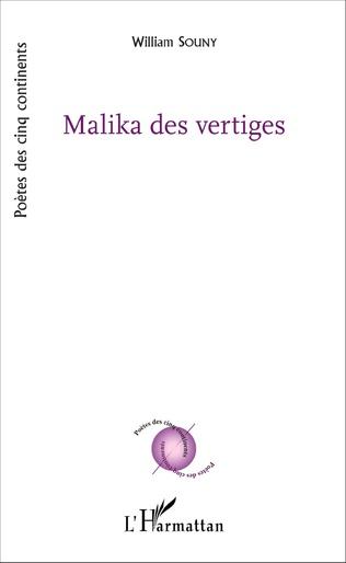 Couverture Malika des vertiges