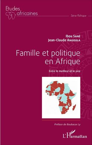 Couverture Famille et politique en Afrique