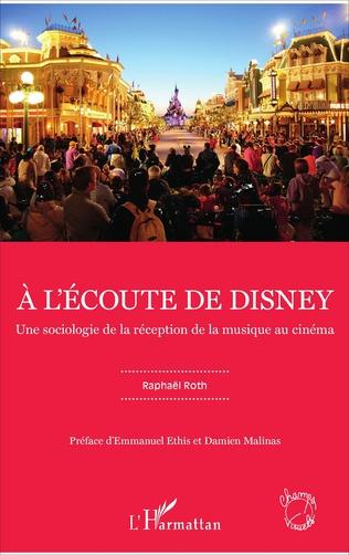 Couverture À l'écoute de Disney