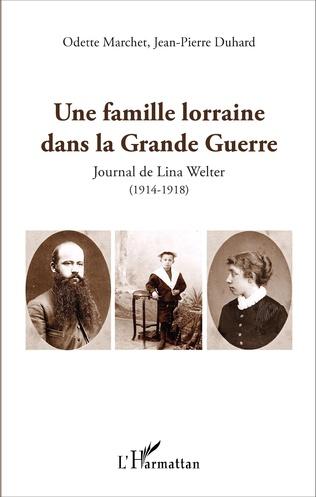 Couverture Une famille lorraine dans la Grande Guerre
