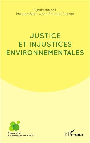 Couverture Justice et injustices environnementales