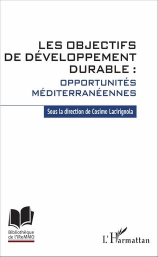 Couverture Les objectifs de développement durable : opportunités méditerranéennes