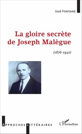 Couverture La gloire secrète de Joseph Malègue