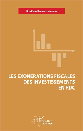 Couverture Les exonérations fiscales des investissements en RDC