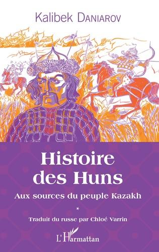 Couverture Histoire des Huns