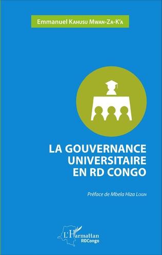 Couverture La gouvernance universitaire en RD Congo