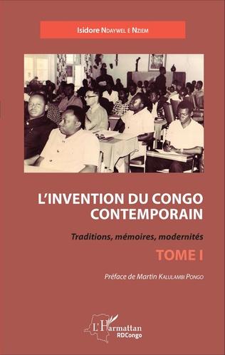 Couverture L'invention du Congo contemporain