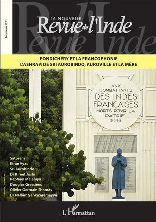 Couverture Pondichéry et la francophonie