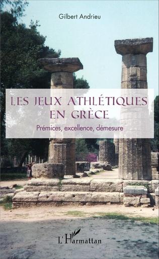 Couverture Les jeux athlétiques en Grèce